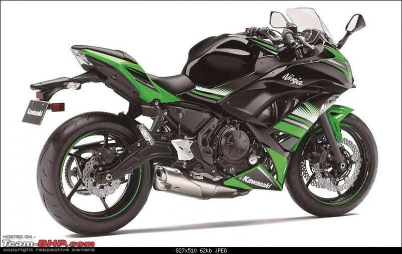 Intermot: 2017 Kawasaki Ninja 650 unveiled EDIT: Launched in India at Rs 5.69 lakhs-2017kawasakininja650rearprofile_827x510_71475681853.jpg