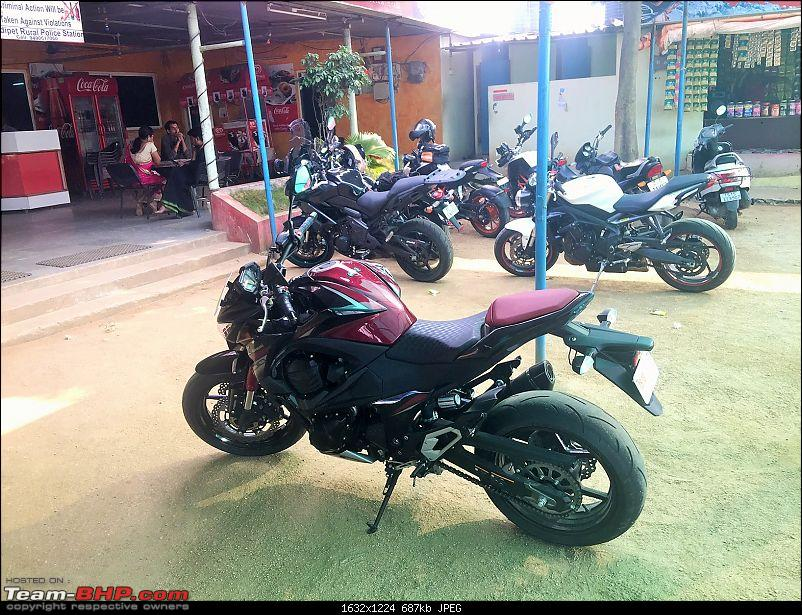 Kawasaki Versys 650:The good times with my 'Dark Knight' begin :Completes 1-Year & 15,000 kms !!!-lunch-1.jpg