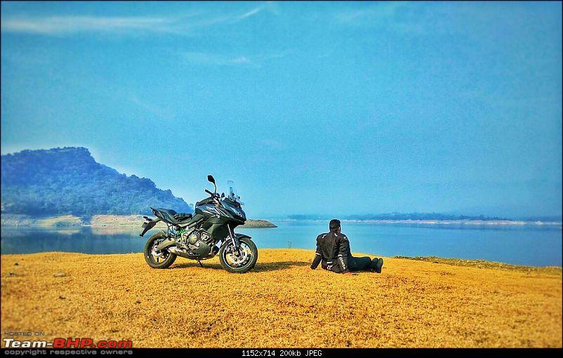 Kawasaki Versys 650:The good times with my 'Dark Knight' begin :Completes 19,500 kms !!!-img_6462.jpg