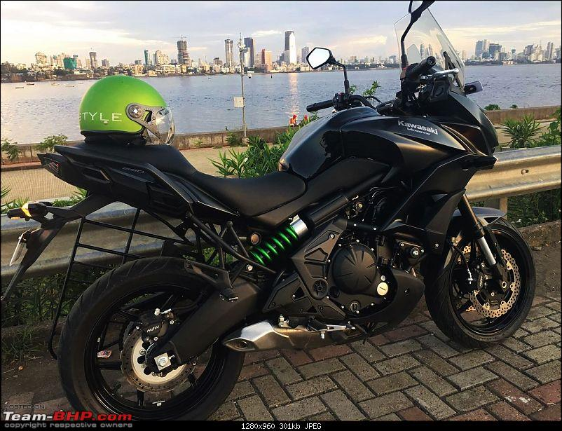 Kawasaki Versys 650:The good times with my 'Dark Knight' begin :Completes 19,500 kms !!!-img_7015.jpg