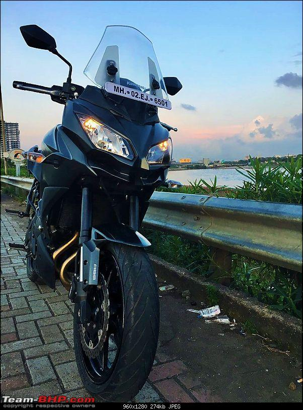 Kawasaki Versys 650:The good times with my 'Dark Knight' begin :Completes 19,500 kms !!!-img_7016.jpg