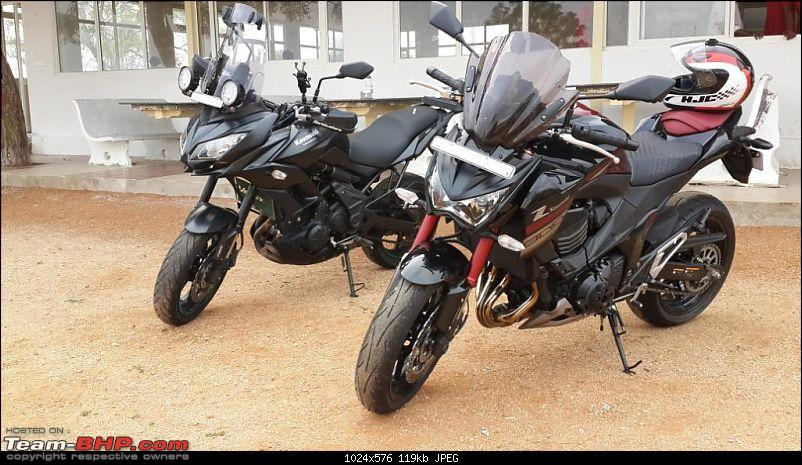 Kawasaki Versys 650:The good times with my 'Dark Knight' begin :Completes 19,500 kms !!!-20161203_082142.jpg