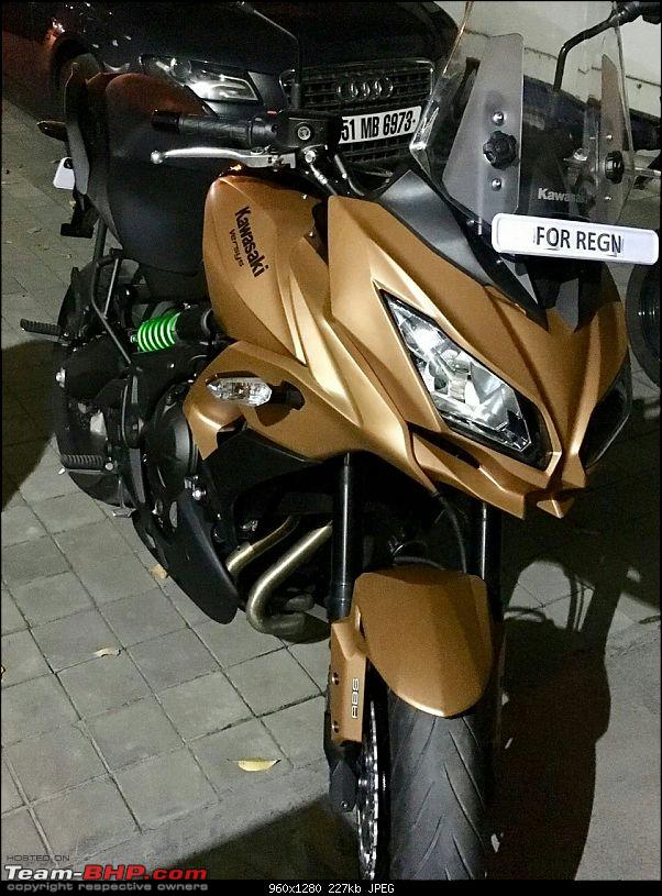 Kawasaki Versys 650:The good times with my 'Dark Knight' begin :Completes 19,500 kms !!!-1480836419018.jpg