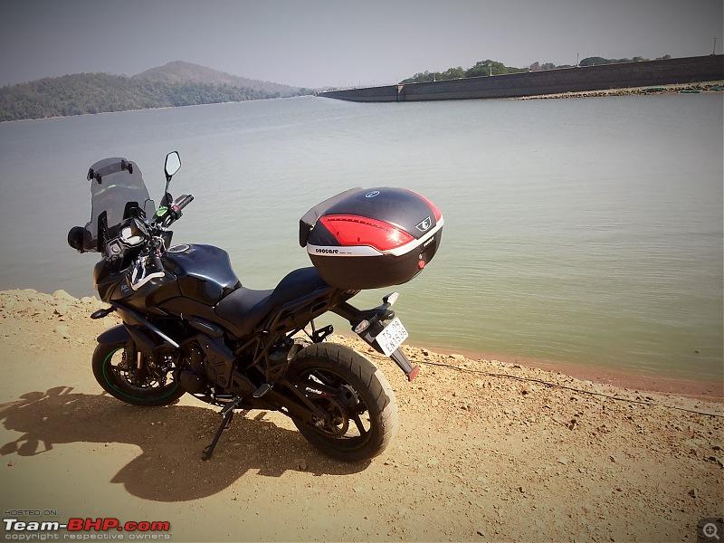 Kawasaki Versys 650:The good times with my 'Dark Knight' begin :Completes 19,500 kms !!!-fullsizerender-12.jpg