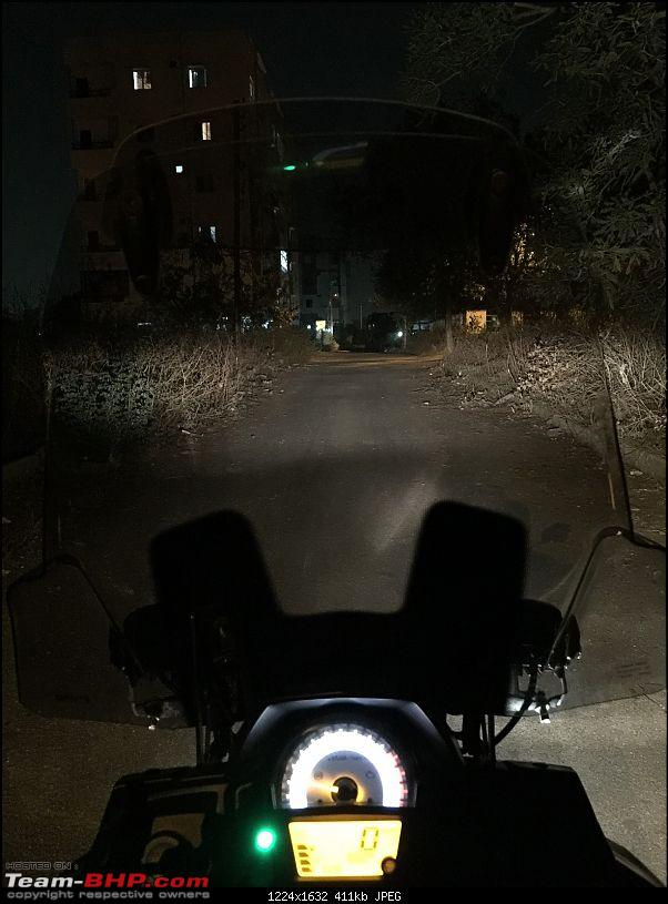Kawasaki Versys 650:The good times with my 'Dark Knight' begin :Completes 19,500 kms !!!-low-beam.jpg
