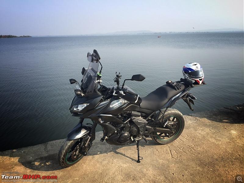 Kawasaki Versys 650:The good times with my 'Dark Knight' begin :Completes 19,500 kms !!!-fullsizerender-8.jpg