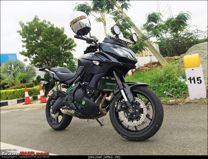 Kawasaki Versys 650:The good times with my 'Dark Knight' begin :Completes 1-Year & 18,000 kms !!!-beaky-look.jpg