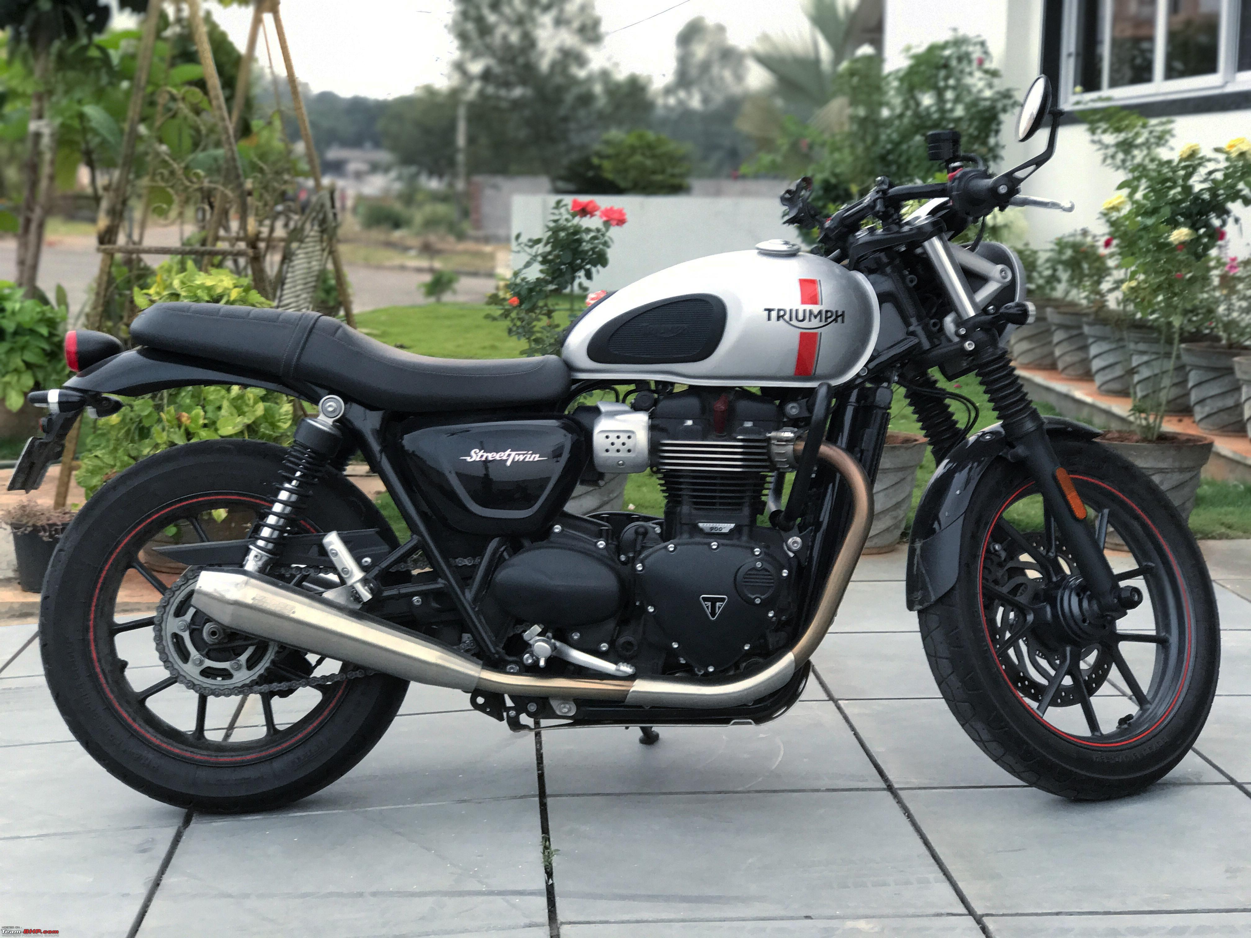 Triumph Street Twin A British Classic For The Ages Team Bhp
