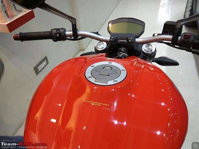 Red Ducati Monster 821 - Initial ownership report-tank.jpg