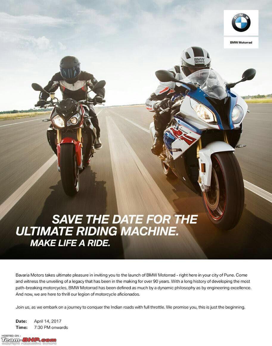 bmw motorrad launch. edit: price list on page 2 - team-bhp