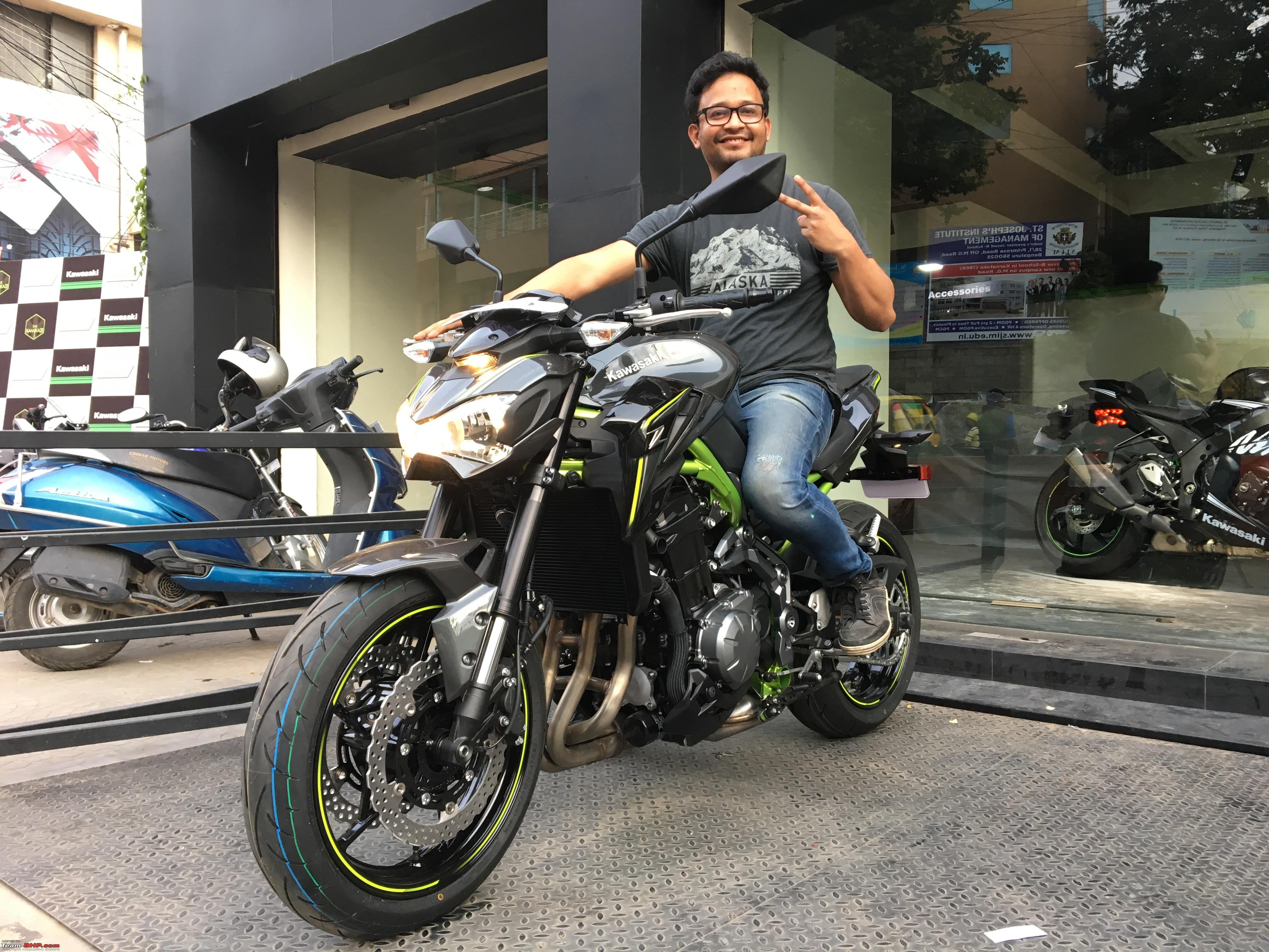kawasaki z900 unveiled edit launched at rs 9 lakhs with. Black Bedroom Furniture Sets. Home Design Ideas