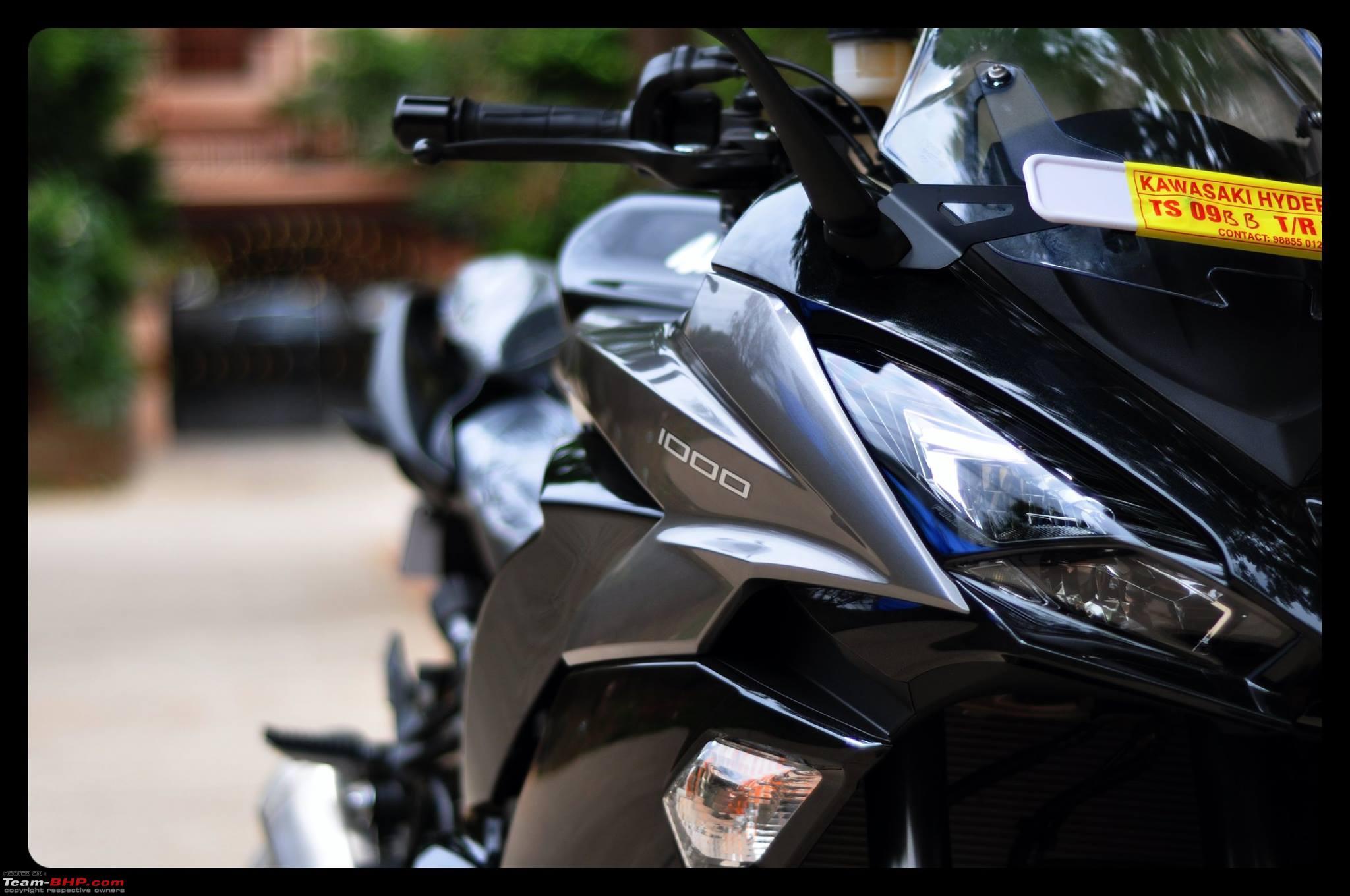 My 2017 Kawasaki Ninja 1000 9