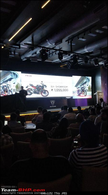 Triumph Street Triple 765 - Launched at Rs. 8.50 lakh-img20171016wa0023.jpg