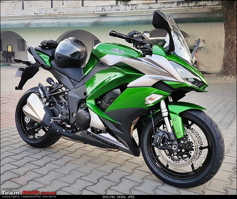 2018 Kawasaki Ninja 1000 - The Comprehensive Review - Team-BHP