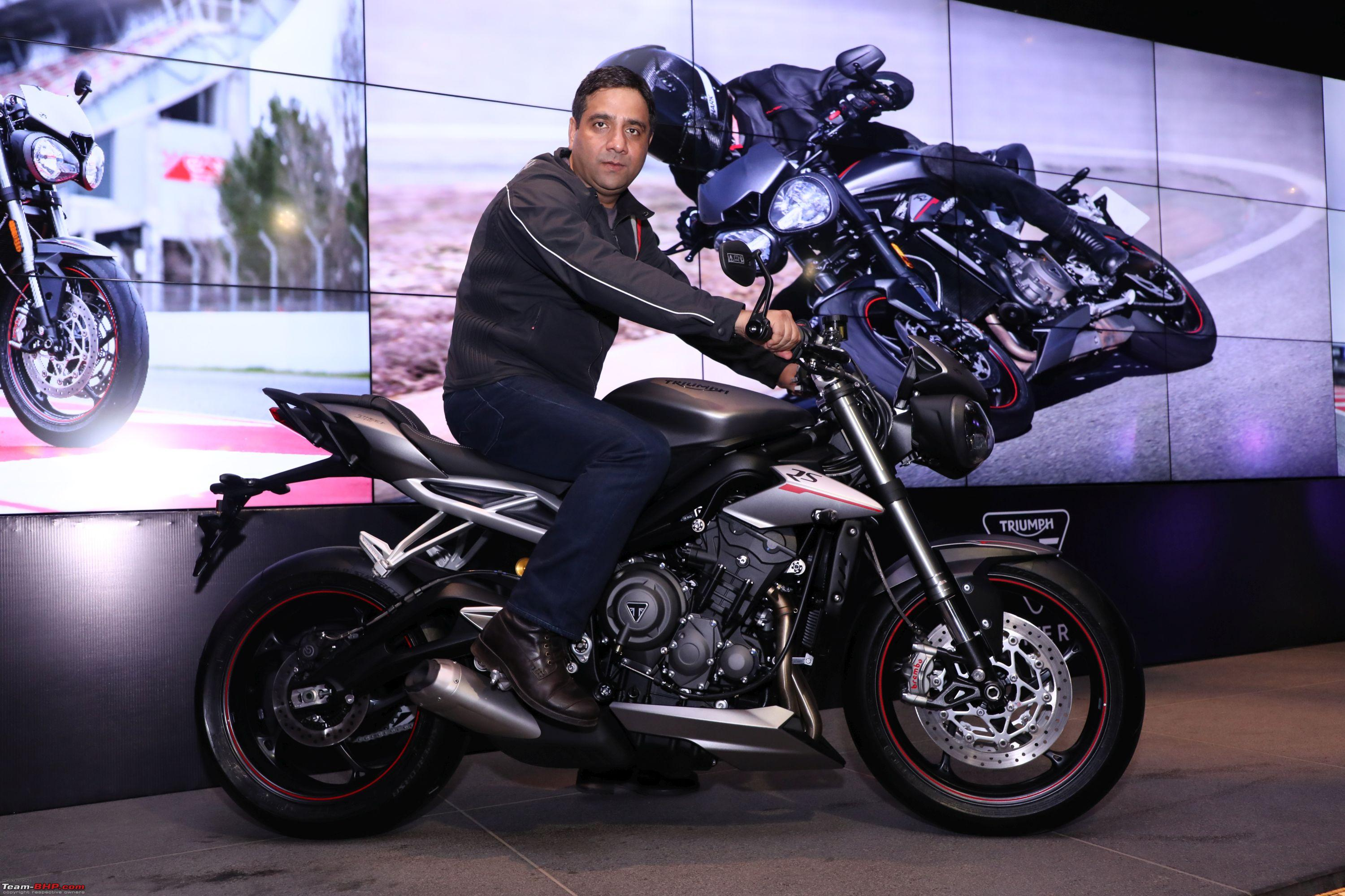Triumph Street Triple Rs Launched At Rs 10 55 Lakh Team Bhp