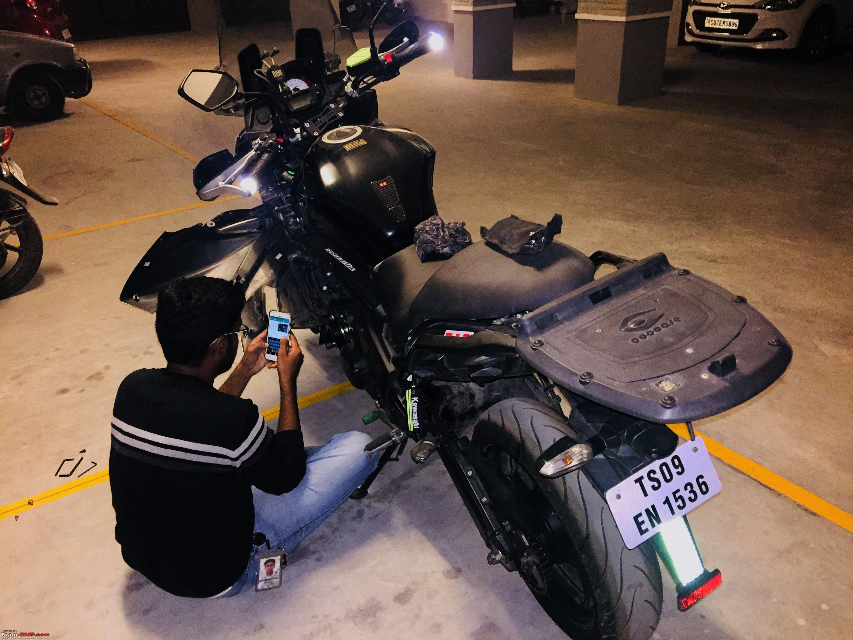Kawasaki Versys 650: The good times with my 'Dark Knight' begin