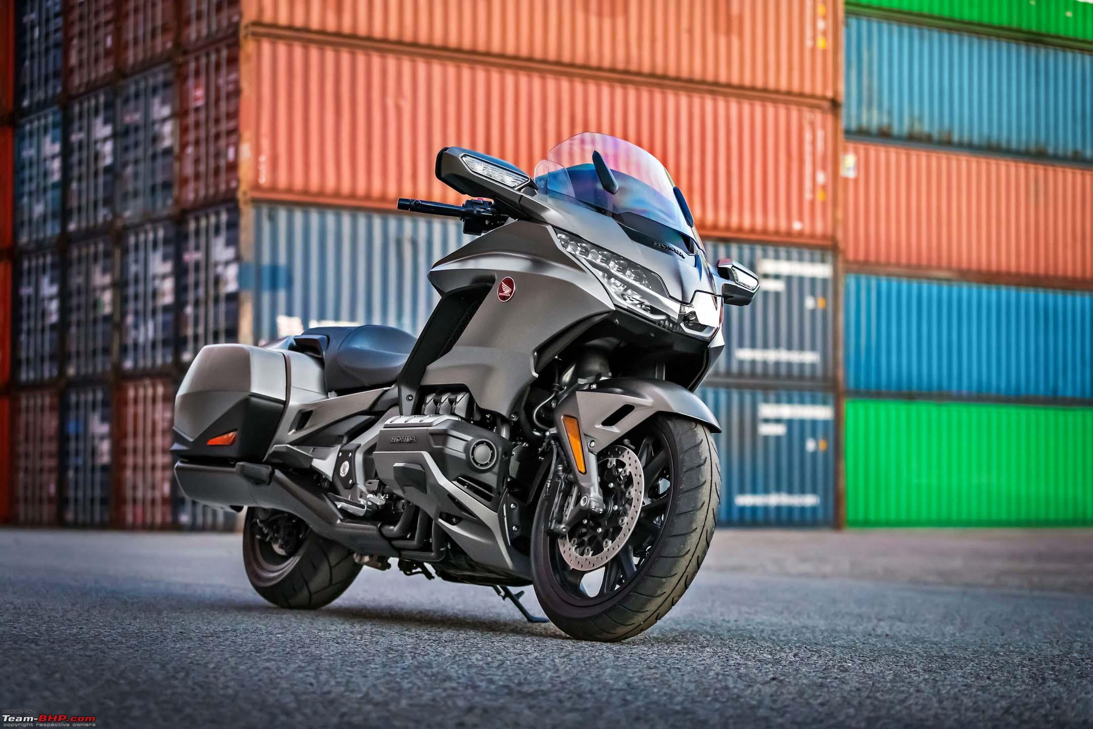 2018 Honda Gold Wing unveiled, gets Apple CarPlay - Team-BHP