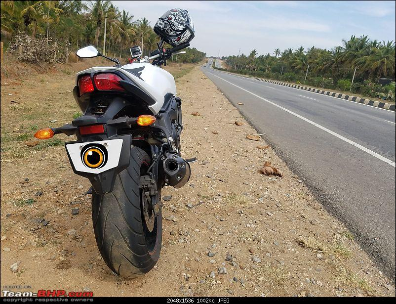 My Yamaha FZ1: Homecoming of a 12-year old following, 0.2642 gallons of fun-ahole.jpg