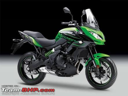 2018 kawasaki versys 650 launched at rs lakhs team bhp. Black Bedroom Furniture Sets. Home Design Ideas