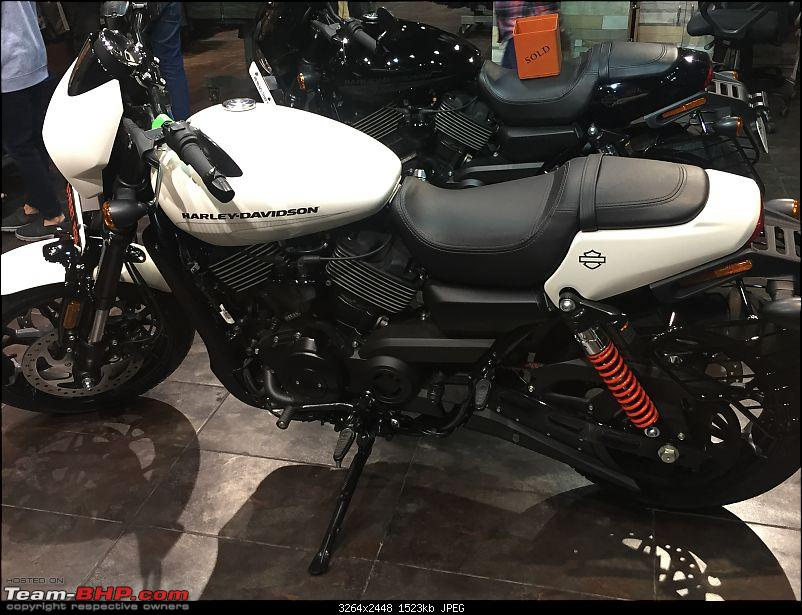 The Harley-Davidson Street Rod 750. EDIT: Launched @ 5.86 lakhs-img_4031.jpg