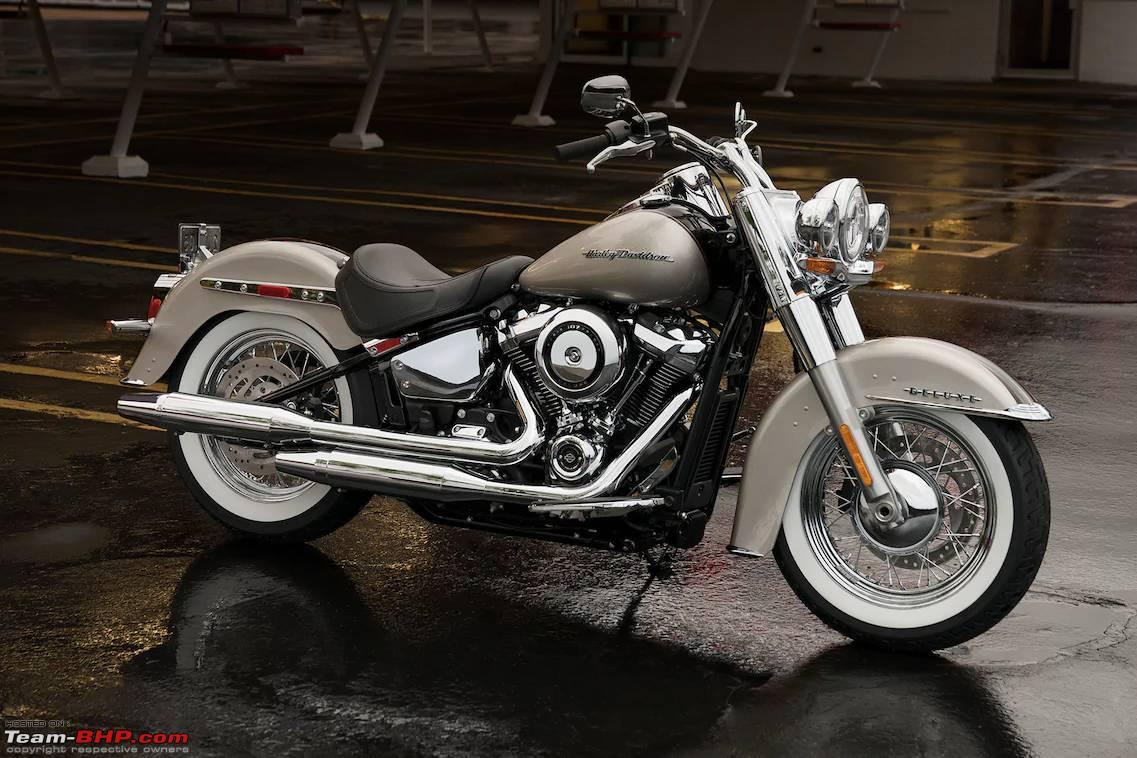 harley davidson 2018 softail deluxe low rider launched team bhp. Black Bedroom Furniture Sets. Home Design Ideas