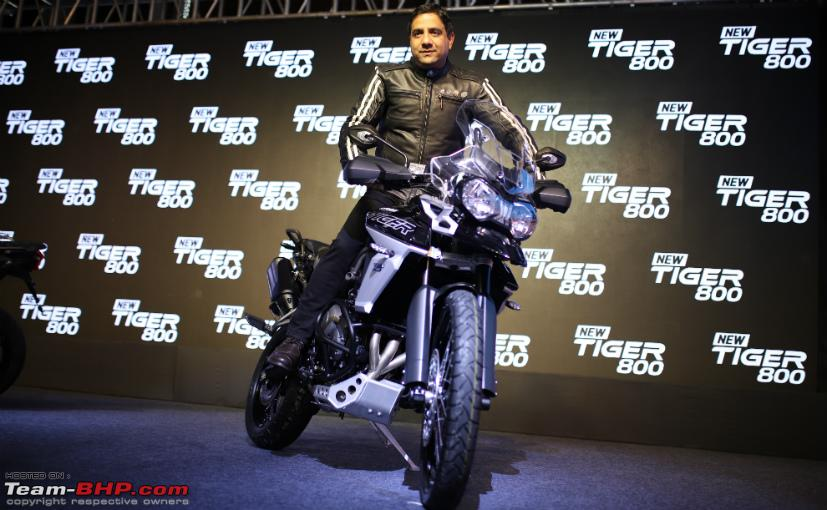 Vimal Sumbly resigns as Triumph Motorcycles Managing