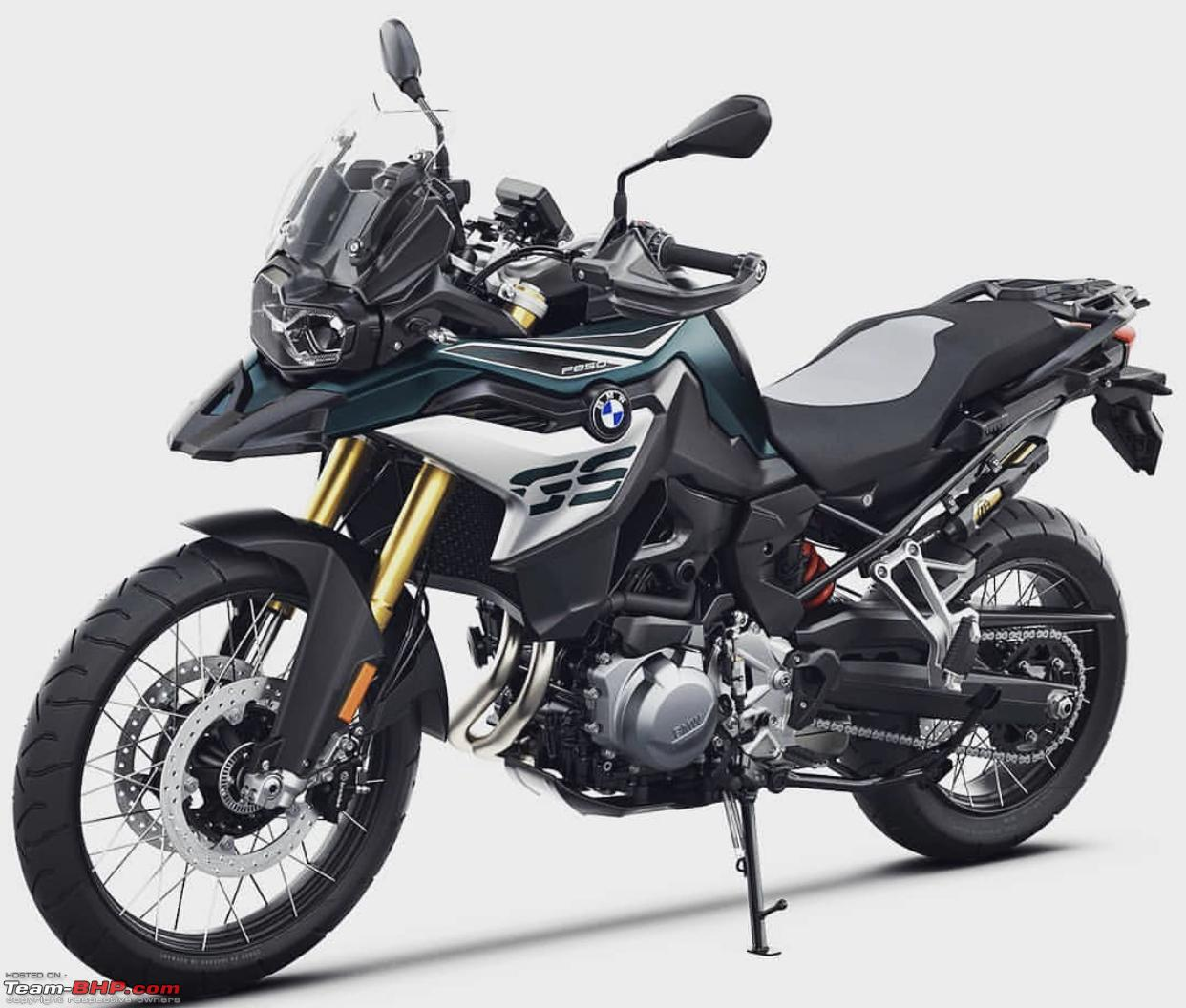 BMW F 750 GS & F 850 GS Enduro Bikes Launched
