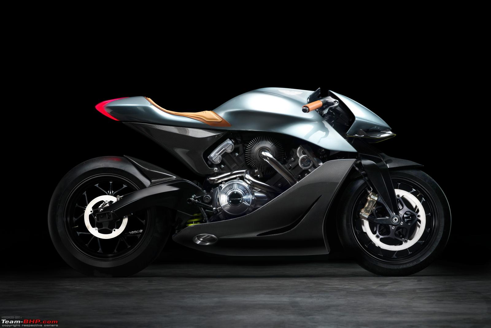 EICMA 2019: Aston Martin debuts its first motorcycle - AMB