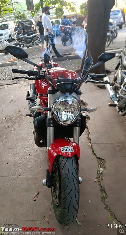 Red Ducati Monster 821 - Initial ownership report-p_20191123_165316_1.jpg