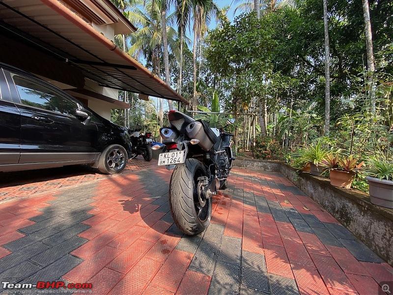 Review: My Yamaha R1 (WGP 50th Anniversary Edition)-rear_view_wide_angle.jpeg