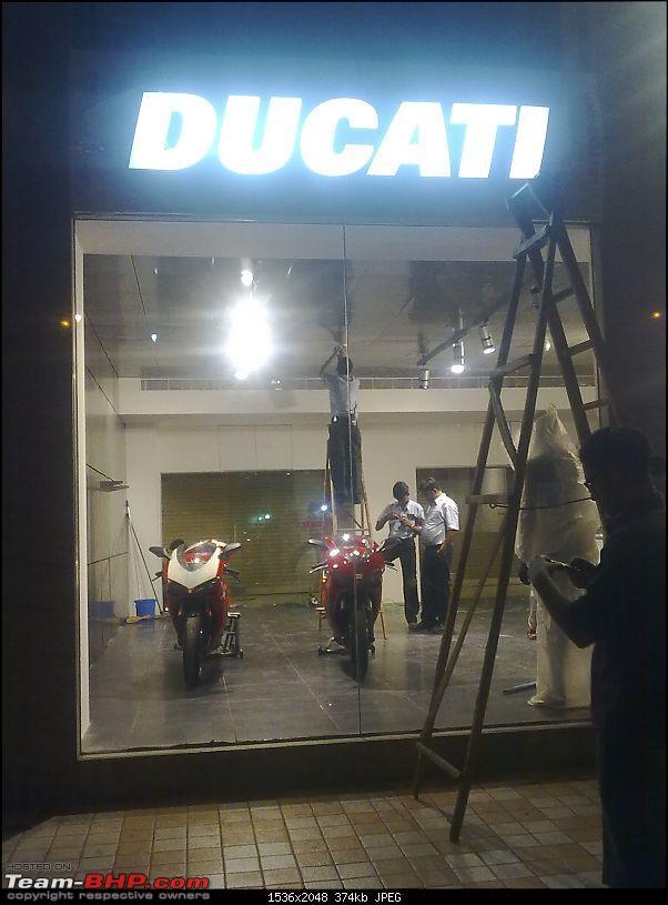 Ducati opens Shop in Mumbai. EDIT: And now in Gurgaon-image0030.jpg