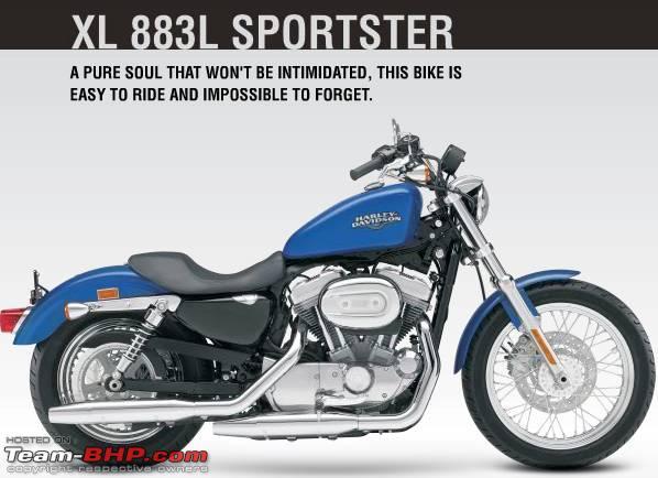 Harley Davidson models & Prices in India - Team-BHP
