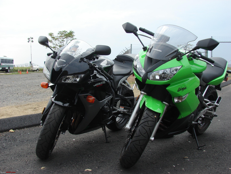 Blackpearl goes green - the Green Goblin (2009 Kawasaki Ninja 650R
