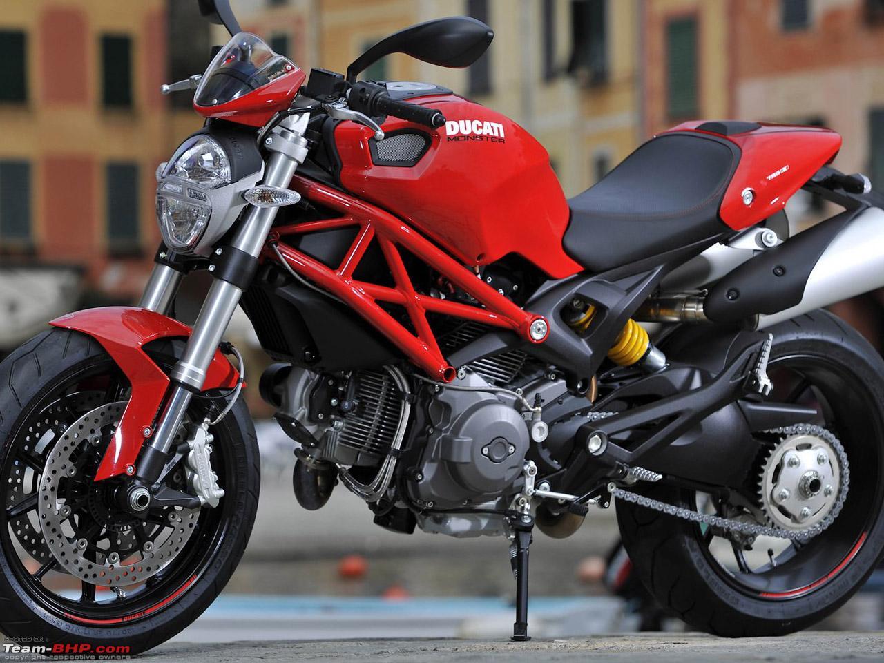 Impulsive Bu... Ducati Monster In India