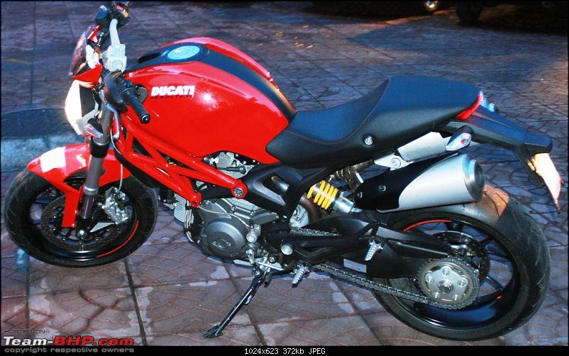 Impulsive Buying: Booked The Ducati Monster 796 - RED!!!-2.jpg