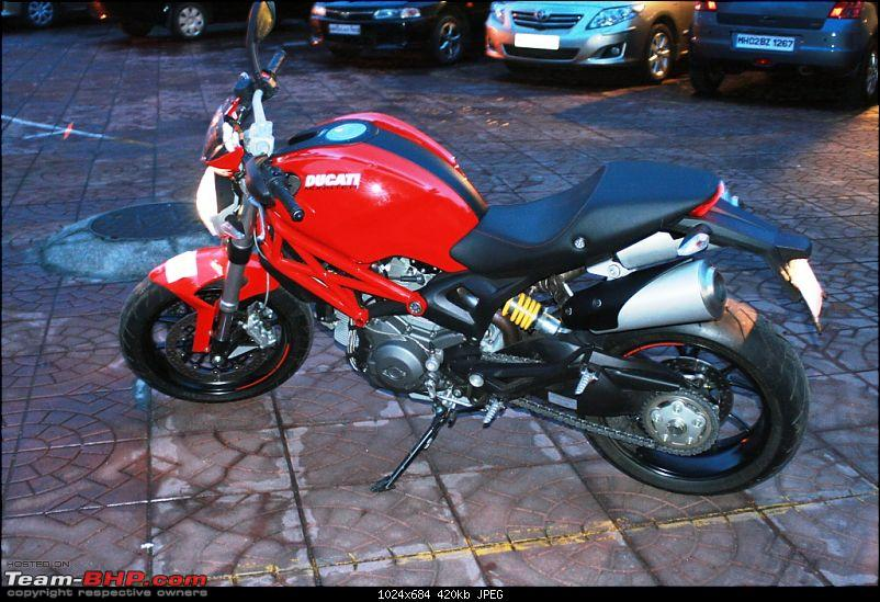 Impulsive Buying: Booked The Ducati Monster 796 - RED!!!-3.jpg