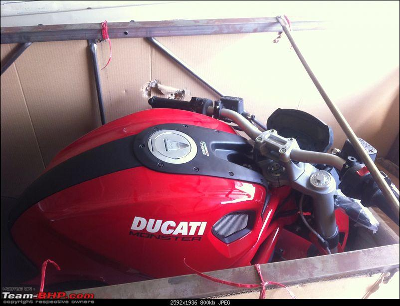 Ducati Monster 796 Vs Yamaha FZ1 EDIT - Bought A Red Monster-img_0244.jpg