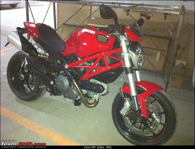 Ducati Monster 796 Vs Yamaha FZ1 EDIT - Bought A Red Monster-img_0260.jpg