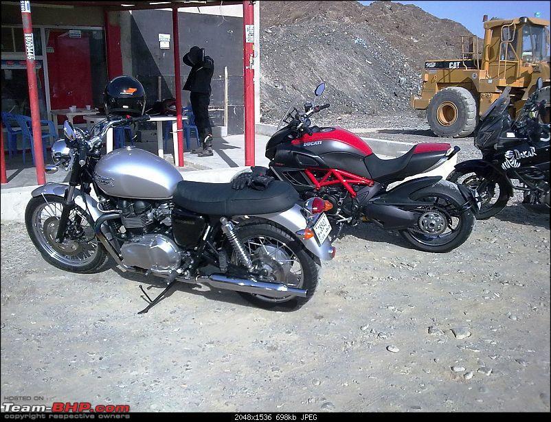 Triumph Bonneville - My New Ride in Dubai. EDIT - Now in Bangalore, India.-image0136.jpg