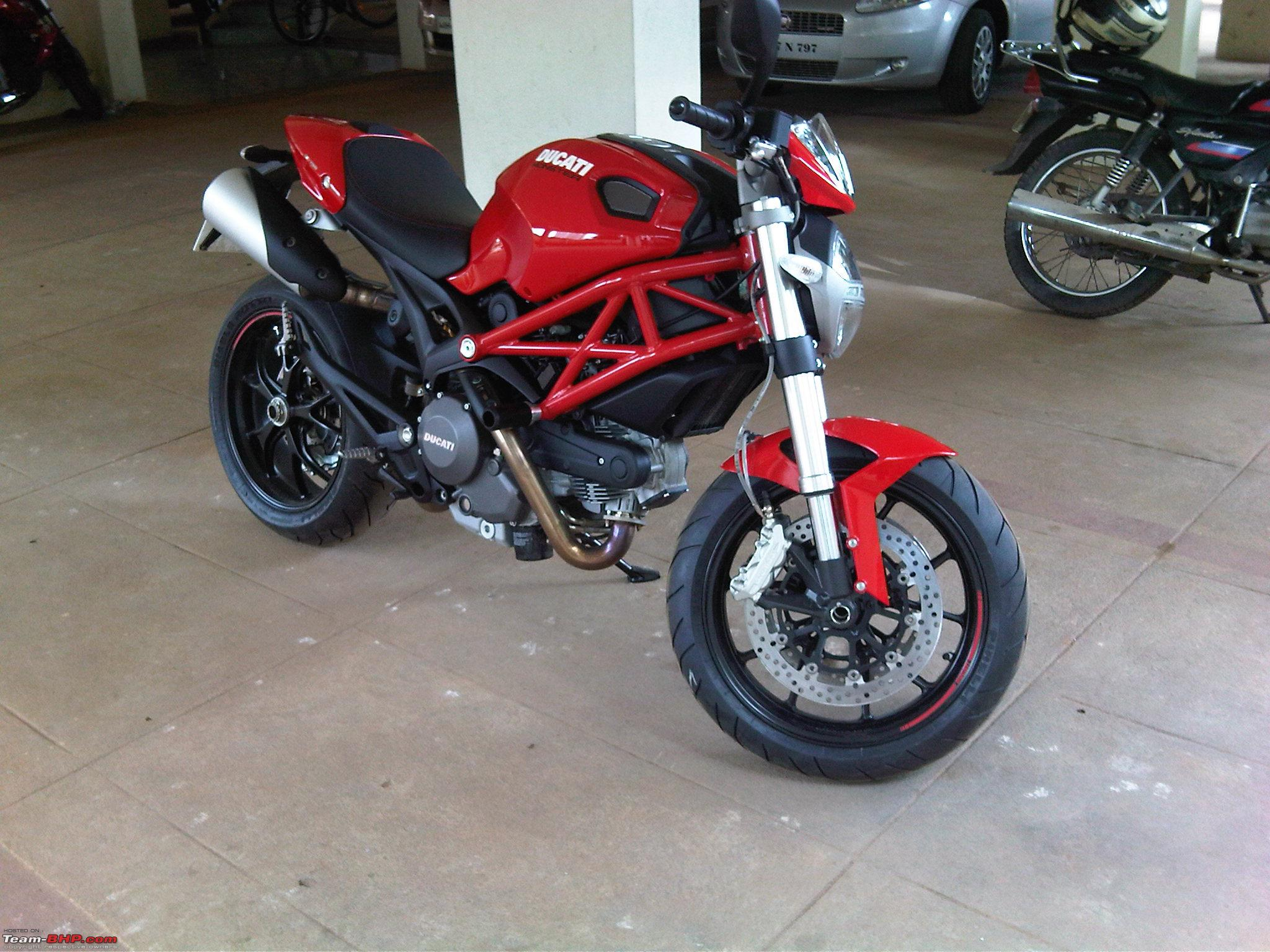 Ducati Monster 796 Ownership Team Bhp