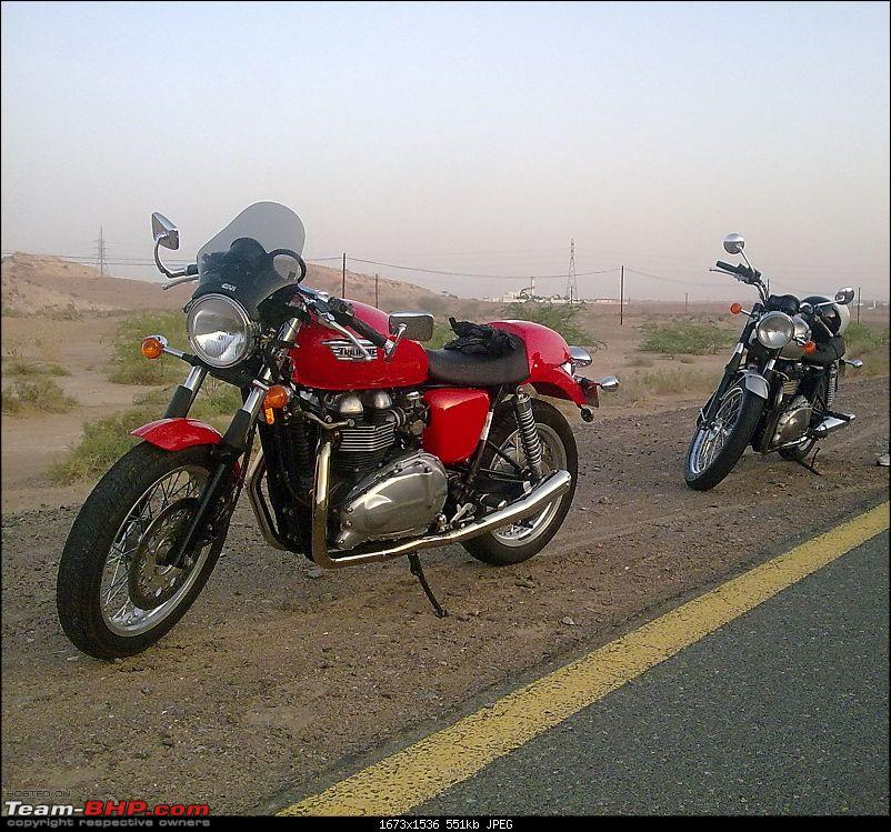Triumph Bonneville - My New Ride in Dubai. EDIT - Now in Bangalore, India.-image0196a.jpg