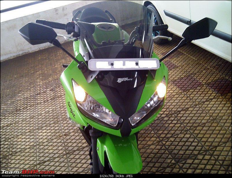 The Mean Green Big Kwacker Rides Home : My Kawasaki Ninja 650R-650r5.jpg