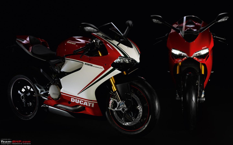 new ducati 1199 panigale superbike breaks cover - team-bhp