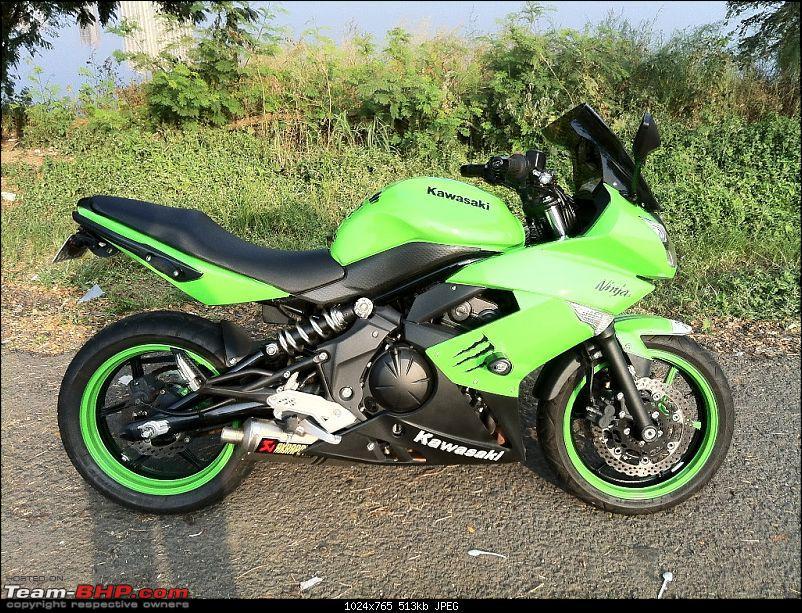 The Mean Green Big Kwacker Rides Home : My Kawasaki Ninja 650R-img_0322.jpg