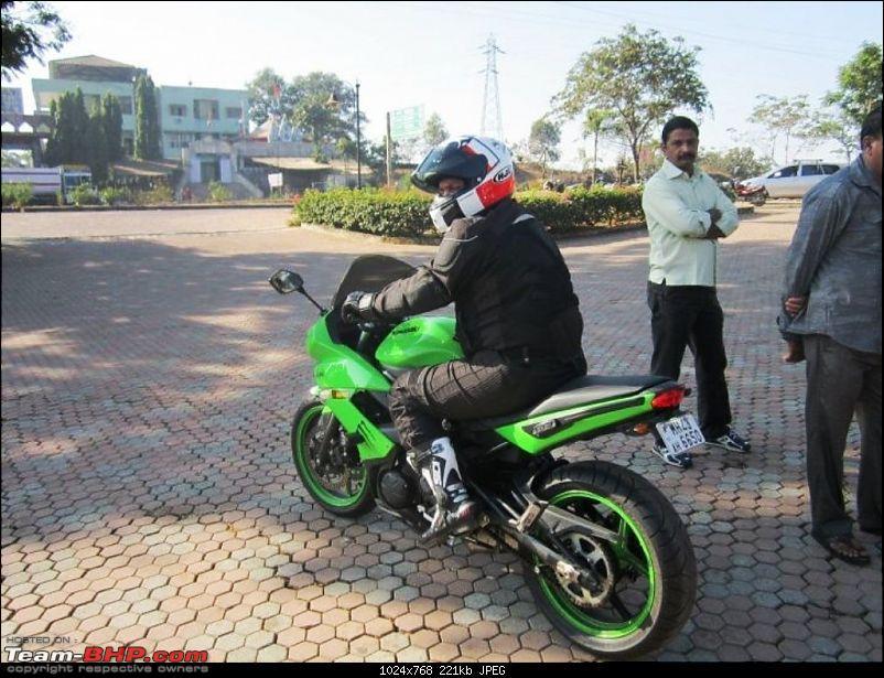 The Mean Green Big Kwacker Rides Home : My Kawasaki Ninja 650R-upload1.jpg