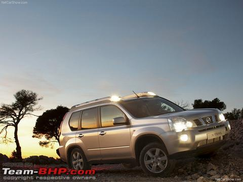 Nissan X Trail Hyper Roof Rails Or Not Team Bhp
