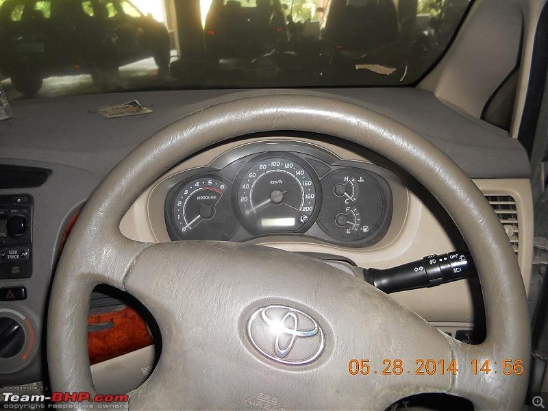 Toyota Innova, unused for 4 years - Worth considering? EDIT: Walked away!-steering-odo-console1.jpg