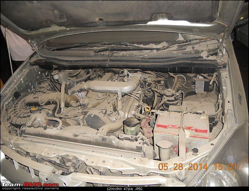 Toyota Innova, unused for 4 years - Worth considering? EDIT: Walked away!-bonnet-opened2.jpg