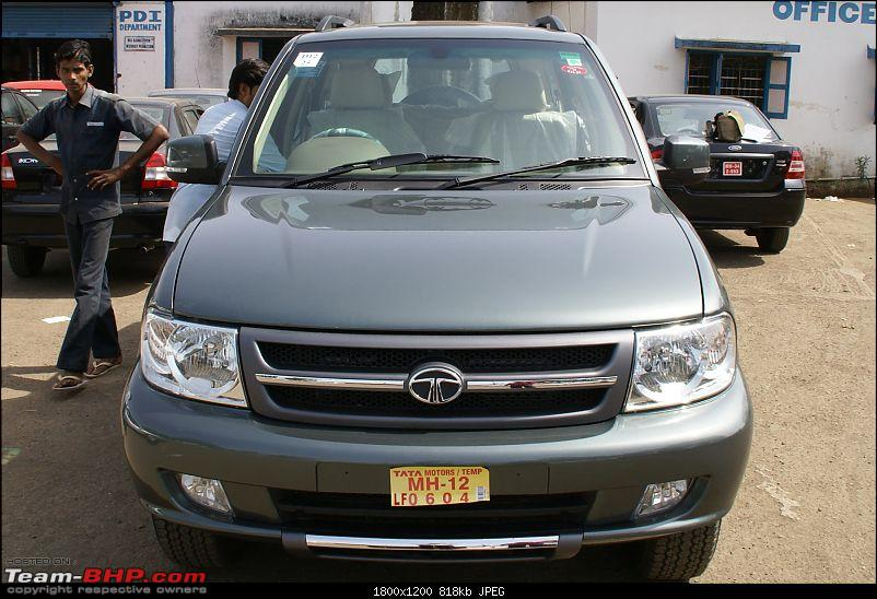 Mountain Green Tata Safari VX 4x4 Booked. EDIT : Now driving it!-exterior.jpg