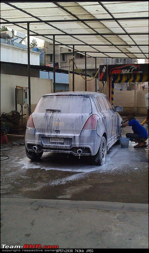 Quick Meets at Bangalore-foamed-n-being-prepared-machine-wash2.jpg